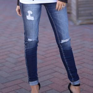 KanCan | Distressed High Rise Skinny Jeans